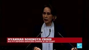 2019-12-11 10:01 Rohingya crisis: Nobel peace laureate Aung San Suu Kyi personally defends Myanmar against accusations of genocide