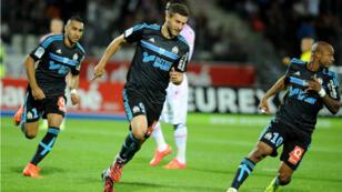 Le Marseillais André-Pierre Gignac a inscrit le but le plus rapide de la saison après 20 secondes de jeu à Evian-TG.