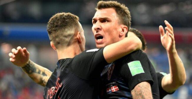 ماريو ماندزوكيتش يوقع هدف فوز كرواتيا على إنكلترا في نصف النهائي