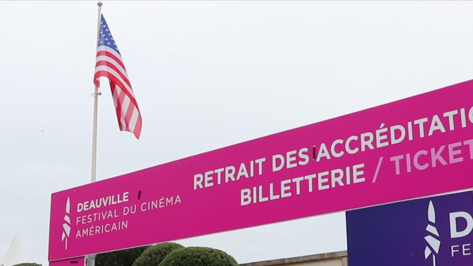 Few Americans have been able to travel to this year's Deauville American Film Festival amid the COvid-19 pandemic.