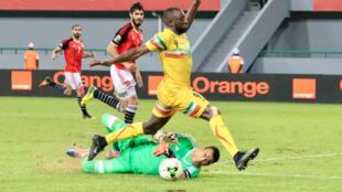 Le Mali a dominé l'Égypte, mais sans trouver la faille (0-0), mardi 17 janvier 2017.