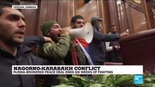 2020-11-10 13:01 Analysis: Azerbaijan, Turkey win from Nagorno-Karabakh ceasefire