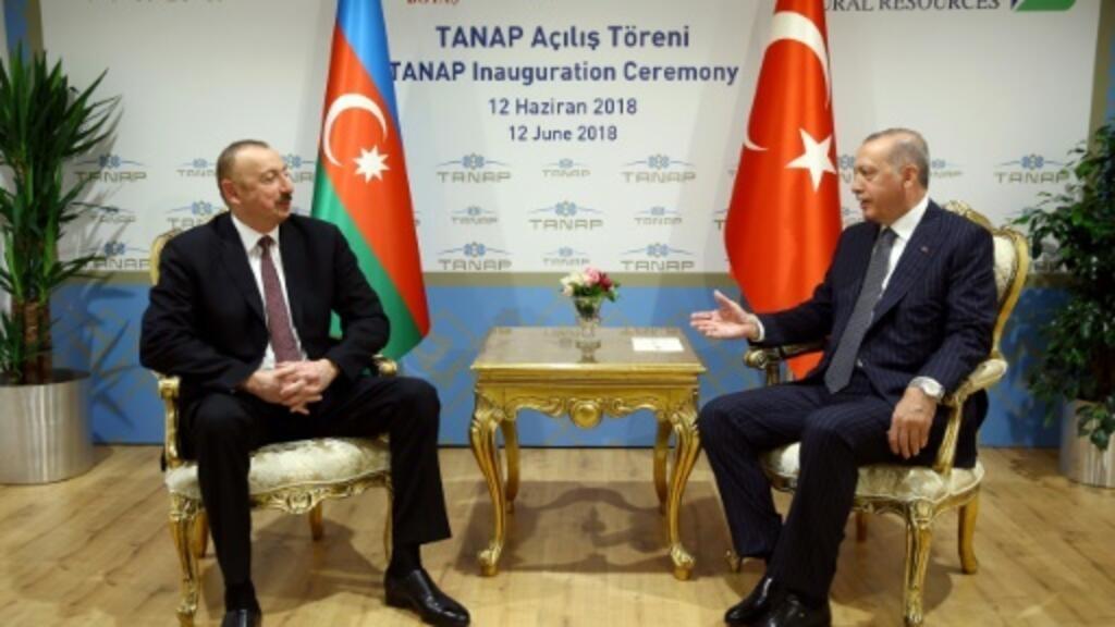 Erdogan opens new pipeline to pump Azerbaijan gas to Europe