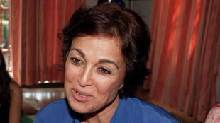 Fatéma Oufkir en 1996