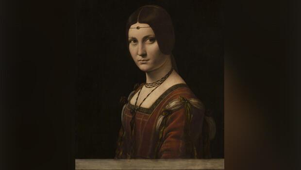 """""""La bella herrera"""", de Leonardo da Vinci"""