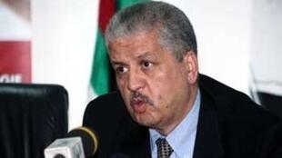 رئيس الحكومة الجزائرية عبد المالك سلال