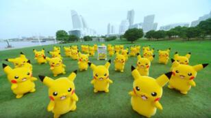 Danse, danse, danse petit Pikachu.