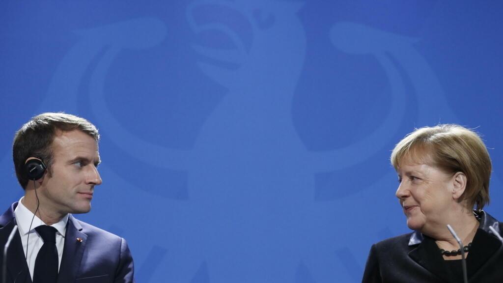 فرنسا: ماكرون يستقبل ميركل مع اقتراب استحقاق الانتخابات في ألمانيا