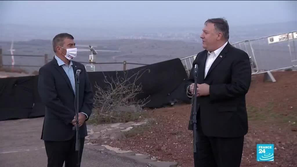 """2020-11-19 17:01 """"This is a part of Israel"""": Pompeo makes first visit by US top diplomat to Golan Heights"""