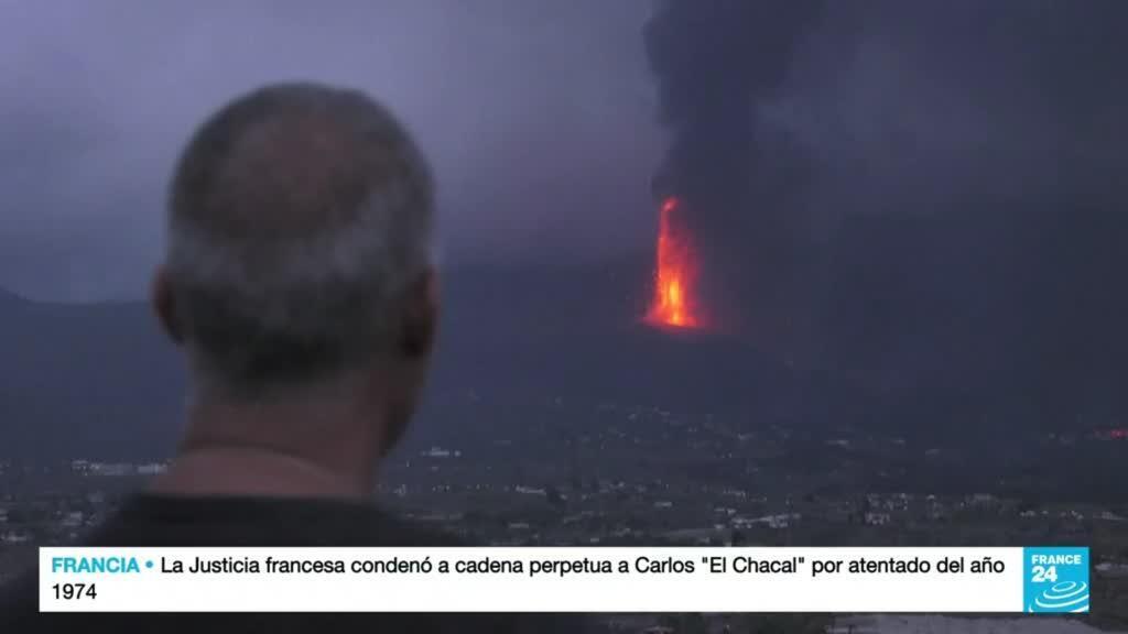 2021-09-23 19:09 Los efectos del volcán Cumbre Vieja dejan un panorama de devastación