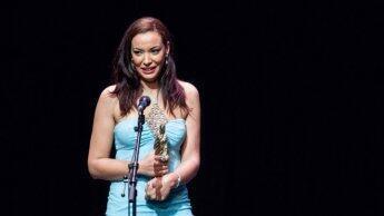 الممثلة المغربية لبنى أبيضار