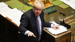 Le Premier ministre britannique Boris Johnson, à la Chambre des communes, à Londres, le 22 octobre 2019.