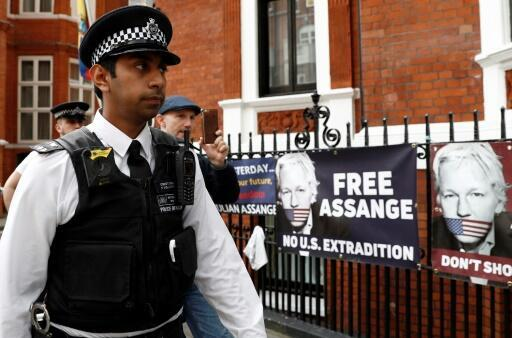 The United States has slapped 18 charges against Wikileaks founder Julian Assange, who had been hiding in London's Ecuadorian embassy for seven years until his arrest in April