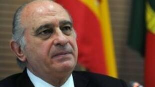 Jorge Fernandez-Diaz, ministre espagnol de l'Intérieur
