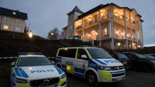 قصر يوهانسبرغ في ريمبو بالسويد عشية بدء محادثات سلام بين أطراف النزاع في اليمن.