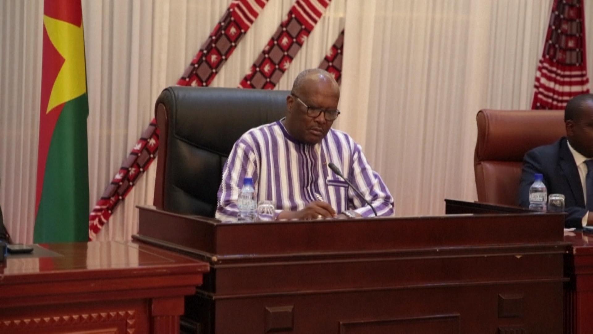 Le président du Burkina Faso Roch Kaboré.