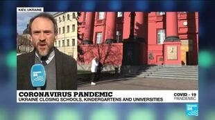 2020-03-12 06:46 Coronavirus pandemic: Ukraine reports one case, authorities decide to close schools, ban public events