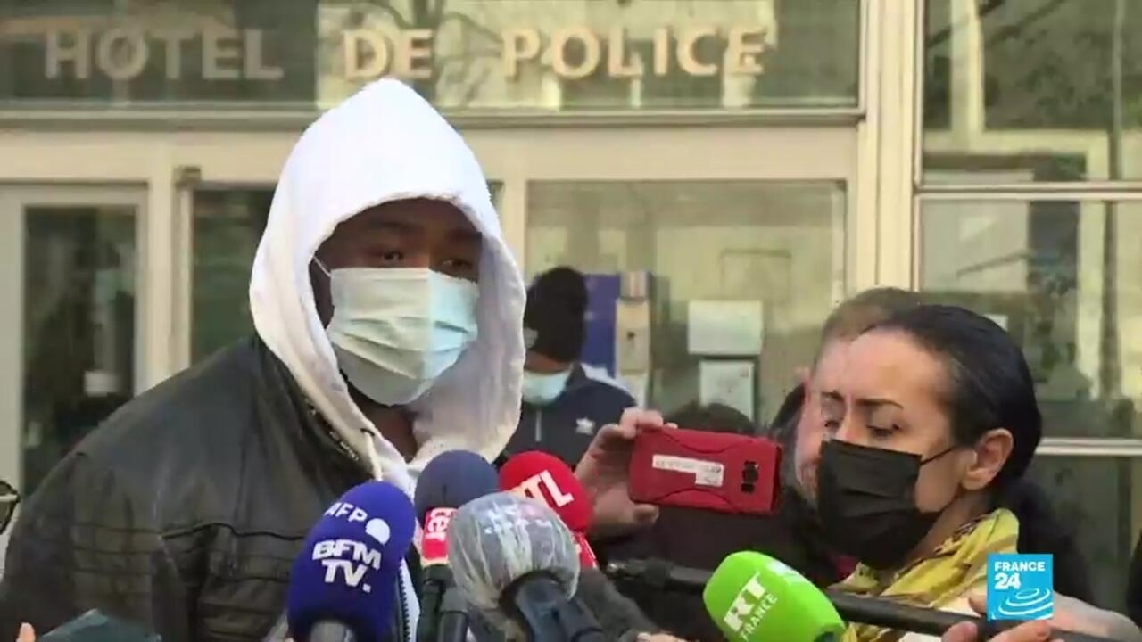Paris police officers suspended over brutal beating of Black man