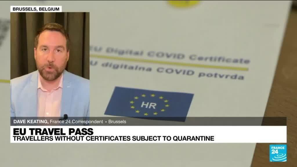 2021-06-30 12:05 EU travel pass: Certificates set to facilitate movement of EU citizens