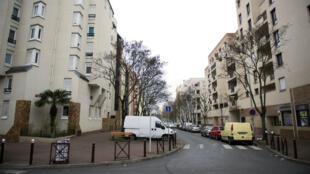Le quartier du Port à Créteil, où a eu lieu l'agression d'un couple juif le 1er décembre 2014.