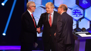JOHNSON CORBYN DEBATE REINO UNIDO