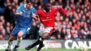 Andy Cole (R) is starting a kidney research fund