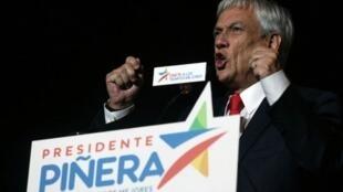 الرئيس التشيلي سيباستيان بينيرا