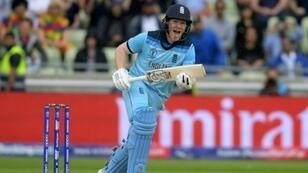 England captain Eoin Morgan urged his side to embrace the World Cup final pressure