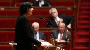 La ministre Myriam El Khomri a défendu son texte mardi  devant les députés.