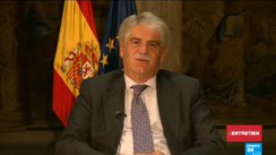 Alfonso Dastis, ministre des Affaires étrangères espagnol, a accordé un entretien à France 24 vendredi 6 octobre 2017.