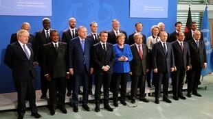 the Libya summit in Berlin, Germany, January 19, 2020. REUTERS OK