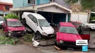 2020-06-01 14:20 Tempête Amanda : au moins 14 morts au Salvador, le Guatemala également touché