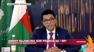 2020-05-11 13:09 Coronavirus : le président de Madagascar Andry Rajoelina parle du remède COVID Organics