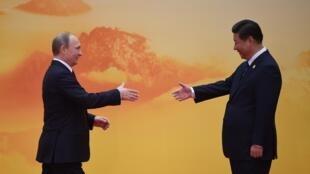 Vladimir Poutine et Xi Jinping, deux amis de circonstances au sommet de l'APEC