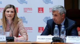 Florin Iordache, ministre roumain de la Justice, a démissionné jeudi 9 février.