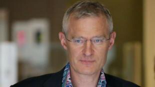 Jeremy Vine, uno de los presentadores de la BBC que aceptaron reducir su sueldo.