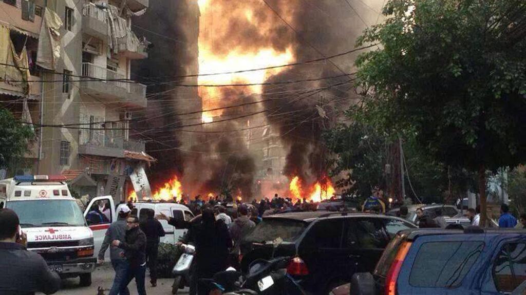 تفجير ضاحية بيروت الجنوبية - 2014/01/02