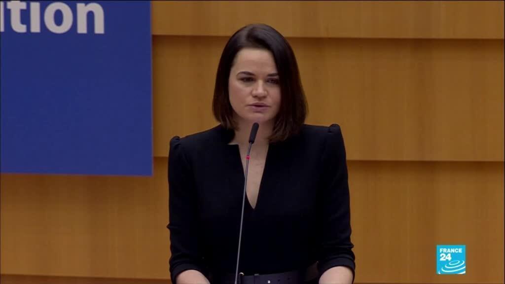 2020-12-16 13:19 Sakharov prize: Prestigious award handed to Belarus opposition leader
