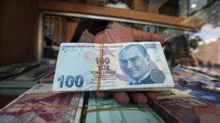 انهيار الليرة التركية