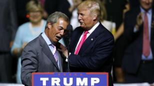 Nigel Farage et Donald Trump ont un ami en commun : le milliardaire américain Robert Mercer.