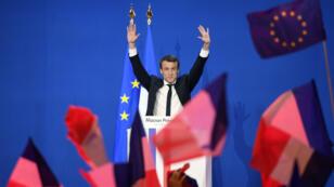 المرشح المستقل للانتخابات الرئاسية الفرنسية إيمانويل ماكرون