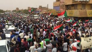 Des dizaines de milliers de manifestants se sont rassemblés à Khartoum, le 30juin2019.