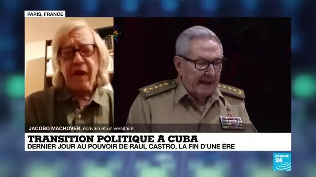 """2021-04-19 23:03 Cuba - départ de Raul Castro : """"le régime castriste continue à décider de tout"""""""