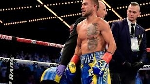 Vasiliy Lomachenko (pictured December 2017) will return to the ring for the first time since undergoing surgery for a torn labrum in his right shoulder