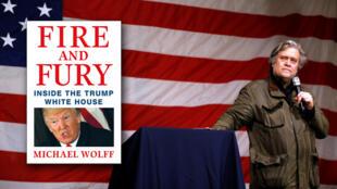 """El libro de la controversia: """"Fire and Fury: Inside the Trump White House"""" (Fuego y furia: adentro de la Casa Blanca de Trump)"""