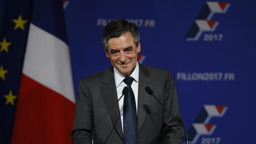 François Fillon lors de son dernier meeting le 25 novembre, à Paris.