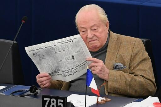 Jean-Marie Le Pen charged over EU funding scandal: lawyer