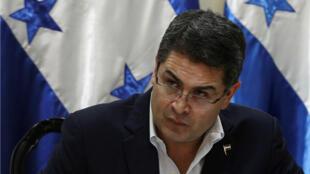 El presidente Salvador Nasralla asumió su segundo mandato en una ceremonia en Tegucigalpa.