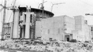 Les débuts du site nucléaire de Bushehr en 1975