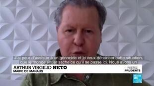 """2020-05-22 14:14 Crise du Covid-19 en Amazonie : """"J'ai peur d'assister à un génocide"""""""